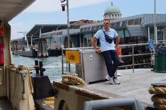 Выходить Lido для Венеции Стоковая Фотография