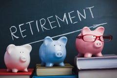 Выход на пенсию стоковая фотография