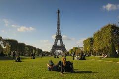 Выходные в Париже стоковая фотография rf