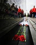 Выходные мемориала WWII Стоковое Изображение RF