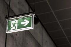 Выход символа знака голодает аварийная ситуация Стоковое Фото