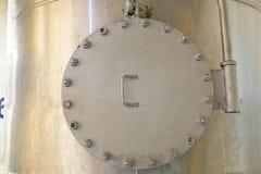 Выход, хранение газа и жидкости Стоковая Фотография