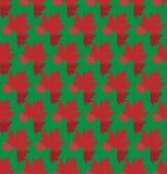 Вычерченная предпосылка осени с красивыми листьями картина безшовная Красные изолированные кленовые листы, вектор или зеленая пре бесплатная иллюстрация