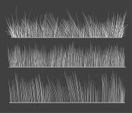 вычерченная рука травы Стоковая Фотография