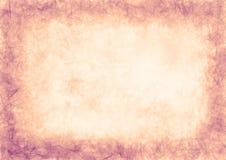 Вычерченная текстурированная предпосылка grunge скомканная бумага Горизонтальное знамя Стоковая Фотография RF