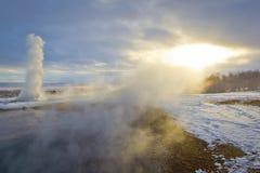 вычерченное солнце к Стоковое фото RF