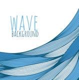 Вычерченные волны Стоковые Изображения RF