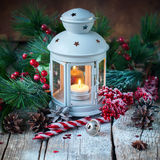 Вычерченный шарик красного цвета подарков рождества праздника снега Стоковая Фотография RF
