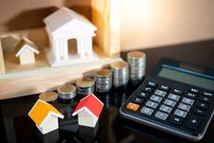 Вычисление процентной ставки ссудного процента банка стоковое изображение rf