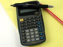 вычисления финансовохозяйственные Стоковые Фотографии RF