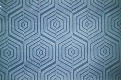 Вычисляемая декоративная картина на голубых керамических плитках Стоковые Изображения