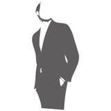 вычисляйте вектор мужчины иллюстрации Стоковые Изображения RF