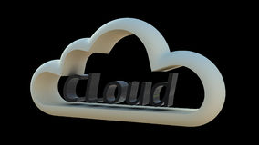 вычислять облака Стоковые Фотографии RF