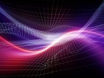 Вычисляя мир цифров Стоковое Изображение