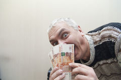 Вычисление денег Стоковая Фотография RF