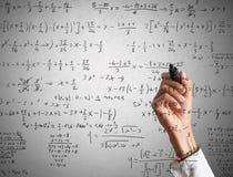 вычисление математически Стоковые Фото