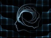 Вычисляя геометрия души Стоковое фото RF