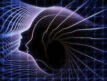 Вычисляя геометрия души Стоковые Фотографии RF