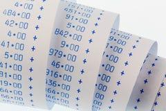 Вычисляя прокладки калькулятора Стоковые Изображения RF