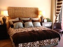 вычура спальни Стоковое Фото