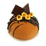 вычура шоколада торта стоковые фото