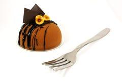 вычура шоколада торта стоковое фото rf