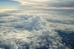 2 вышеуказанных облака Стоковые Изображения RF