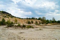 Вышедшая из употребления шахта песчаника стоковое фото