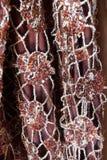 Вышивка и sequins Стоковая Фотография