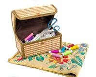 вышивка коробки handmade Стоковое Изображение RF