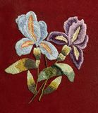 Вышивка, народные искусства и ремесла, handmade стоковые фото