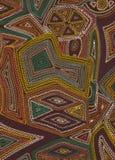 Вышивка на цепном стежке Стоковые Изображения