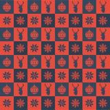 Вышивка рождества Стоковые Изображения RF