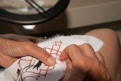 вышивка ручной работы Стоковое фото RF