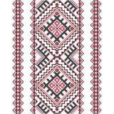 Вышивка Украинский национальный орнамент Стоковые Изображения