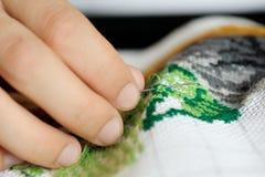 вышивка стоковое фото rf
