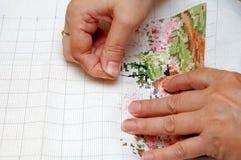 вышивка Стоковые Изображения
