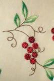 вышивка handmade Стоковое Фото