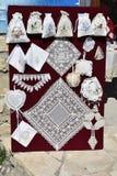 Вышивка Lefkara Стоковые Фото