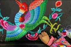 Вышивка Miao Стоковая Фотография RF