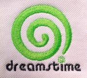 Вышитый логотип dreamstime Стоковое Фото