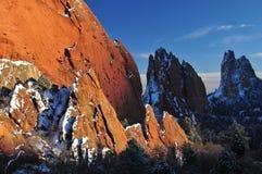 Выщербленные горы Стоковые Изображения RF