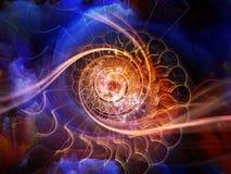 Выдвижение внутреннего движения Стоковые Изображения