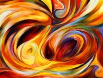 Выдвижение внутренней краски Стоковые Фотографии RF