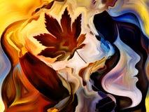 Выдвижение внутренней краски Стоковые Фото