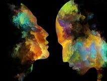 Выдвижение внутренних цветов Стоковые Фотографии RF