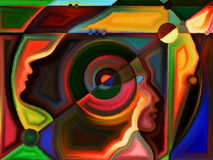 Выдвижение восприятия Стоковые Фотографии RF