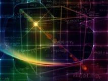 Выдвижение геометрии Стоковое Фото