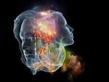 Выдвижение интеллекта Стоковые Изображения