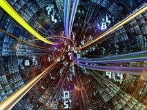 Выдвижение мира цифров Стоковые Изображения RF